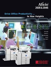download free pdf for ricoh aficio 2035e copier manual