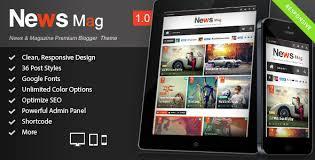 news mag responsive magazine blogger templates