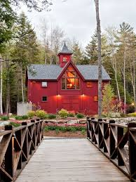 Large Country Homes Yankee Barn Homes Houzz