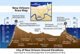 Map Of New Orleans Area New Orleans Elevation What Can We Learn From Hurricane Katrina