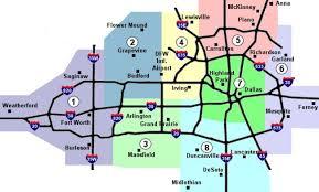 map of dallas fort worth premier metropolitan properties dallas fort worth metro