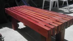 modern outdoor bench design of garden and patio simple also