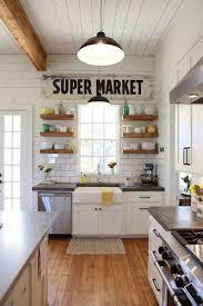 farmhouse kitchen designs with open shelves charming farmhouse