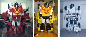 de repentigny u0027s transformers suits neatorama