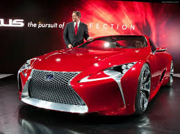 lexus lf lc red lexus lf lc sports coupe concept 2012 exotic car wallpapers 32 of