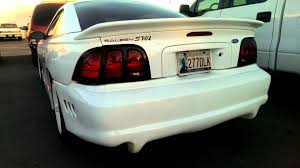 94 saleen mustang sn95 saleen mustang with side pipes