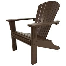 Adirondack Chairs Home Depot Trex Outdoor Furniture Hd Patio Adirondack Chair In Charcoal Black
