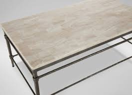 Ethan Allen Coffee Table by Vida Stone Top Coffee Table Coffee Tables Ethan Allen