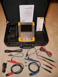 fluke 190 062 scopemeter oscilloscope series 2 excellent