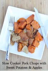 slow cooker steak and potatoes 5 dollar dinnerscom slow cooker pork chops with apples sweet potatoes mastercook