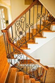 decorative cast iron railing panels deck wrought stair wildlife