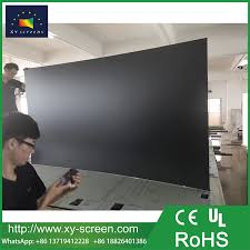 ambient light rejecting screen xyscreen black ambient light rejecting projection screen