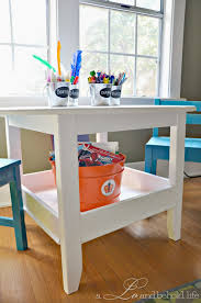 one room challenge week 2 play table and chairs reveal a lo and