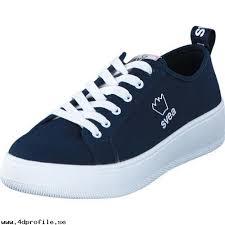 svea skor svea stockholm 2 73 navy skor sneakers sportskor låga