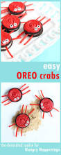 easy oreo crabs to make with your kids if they make a mess at