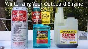 how to winterize evinrude johnson and other outboard boat