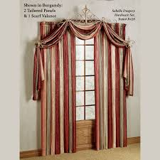 Scarf Curtains Valance Scarf Curtains Home Design And Decorating Ideas