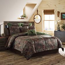 Pine Bed Set True Timber Mixed Pine Bedding Comforter Set Green Walmart