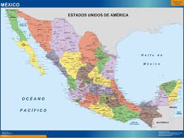 Map De Mexico by Magnetic Map Mexico Our Cartographers Have Made Magnetic Map