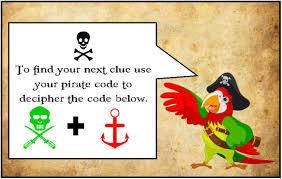 thanksgiving treasure hunt printable pirate party treasure hunt