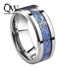cincin tungsten carbide aliexpress buy queenwish 8mm tungsten carbide ring silver