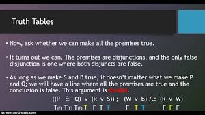 truth table validity generator truth tables 4 the short method youtube