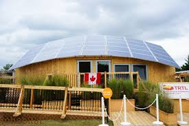 Native House Design Team Canada U0027s Trtl Solar Decathlon House Is A Modern Take On A