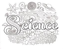 science coloring page getcoloringpagescom science pinterest