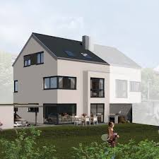 Doppelhaus Modernes Doppelhaus 125 Pfleiderer