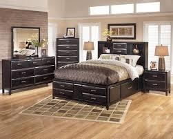 Bed Frame King Size Bedroom Wood Bed Frame Full Dark Wood Platform Bed Modern King