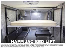 happijac bed toy hauler options