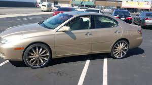 lexus lease durham nc es lexus on 22s gold on gold youtube
