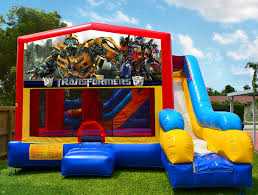 bouncy house rentals transformers bounce house bounce house rentals in miami fl