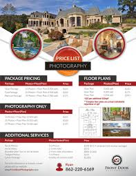 Floor Plans For Real Estate Marketing by Serious Professional Flyer Design For Front Door Photography Llc