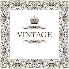 vintage frame decor ornament vector royalty free cliparts vectors