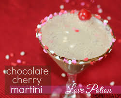 martini cherry valentine u0027s day cocktail love potion chocolate cherry martini
