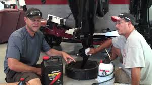 changing gear lube on mercury verado and pro kicker youtube