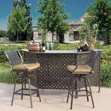 Savannah Outdoor Furniture by Savannah Outdoor Aluminum 3 Piece Bistro Set World Of Decor