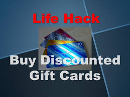 buy discount gift cards hack buy discounted gift cards