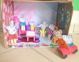 peppa pig crafts our house u2013 preschool projects