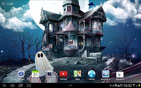 spooky screensaver halloween live wallpaper android apps on google play