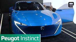 peugeot cars canada peugeot concept learns from your iot gear to improve the ride