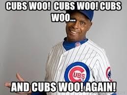 Woo Meme - cubs woo cubs woo cubs woo and cubs woo again ronnie woo