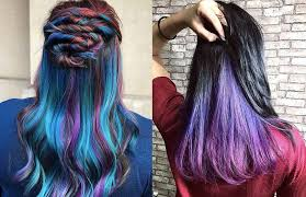 the latest hair colour techniques underlights what s the hidden highlights trend how to rock it