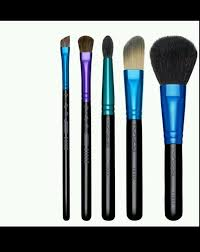 mac 24 piece professional makeup brush set in leather pouch ukpor fl makeup brushes lots previous
