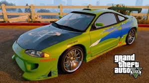 fast and furious cars gta 5 fast and furious car build brians eclipse youtube