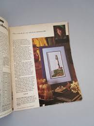 cross stitch magazine country crafts magazine vintage craft
