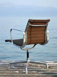 le de bureau vintage chaise de bureau vintage fauteuil marron previous en cuir coloris
