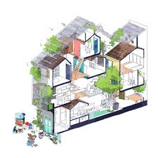 Family House Plan Family House In Saigon Made Of Layers Of Open Living Spaces