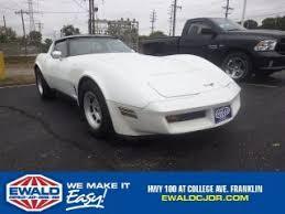 1981 white corvette 1981 chevrolet corvette for sale in